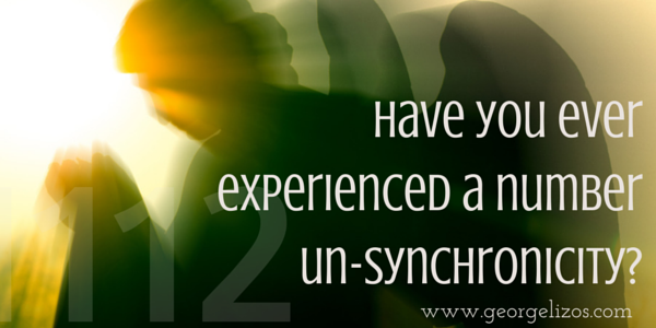 Have you ever experienced a number un-synchronicity?