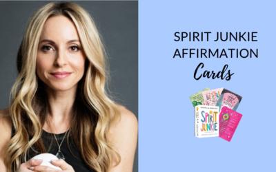 Spirit Junkie Affirmation Cards by Gabrielle Bernstein (Hay House) | Review