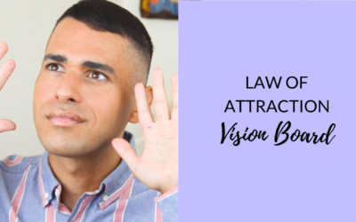 Law of Attraction Vision Board (process that actually works!)